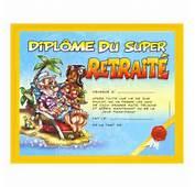 Dipl&244me Humoristique Du Super Retrait&233