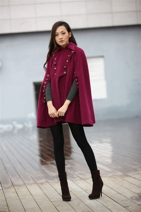 cape styles military cape coat 7 street style ways to wear a cape jacket