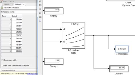 Matlab Lookup Table by Matlab Modeling A Lookup Table In Simulink Which Should