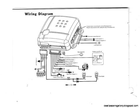 vehicle wiring diagrams for alarms efcaviation