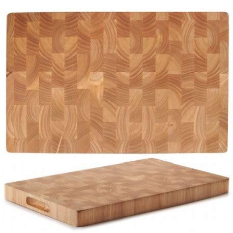 tablas de cortar tabla de cortar de madera rubberwood lacor
