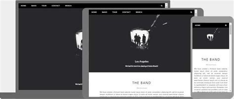 Css Web Templates by Responsive Web Design Templates