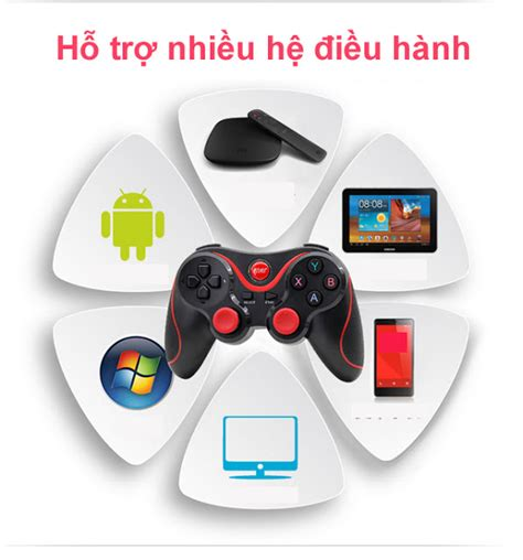 Terios S5 Original Holder Receiver Gamepad Wireless Bluetooth 30 tay chơi kh 244 ng d 226 y bluetooth gamepad t3