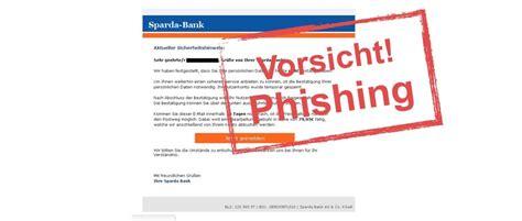 sparda bank nrw gef 228 lschte e mails der sparda bank im umlauf