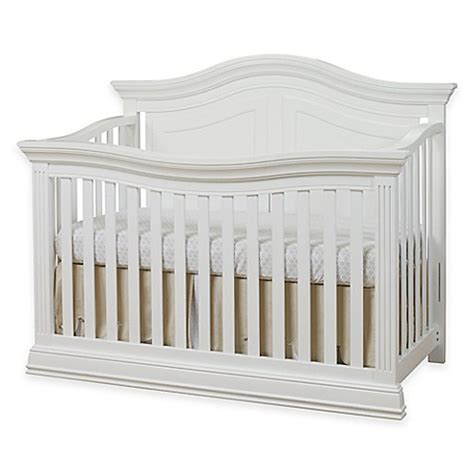 Baby Crib 4 In 1 Sorelle Providence 4 In 1 Convertible Crib In White Buybuy Baby