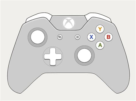 Drawing Xbox Controller by Xbox One Controller Drawing Www Pixshark Images
