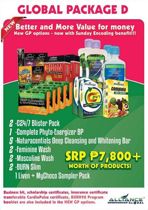 Detox Packages Philippines by Aim Global Package D Join Aim Global Now