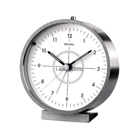 bulova desk clock price bulova flair desk clock at 1 800 4clocks com
