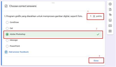 membuat google form  ujian  qwords