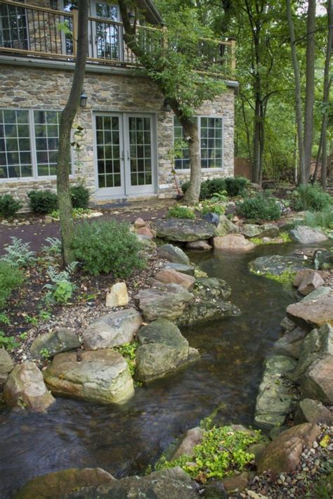 backyard stream 11 natural stream to guide rain water ideas start a back