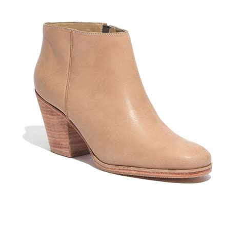 madewell comey mars ankle boots in lyst