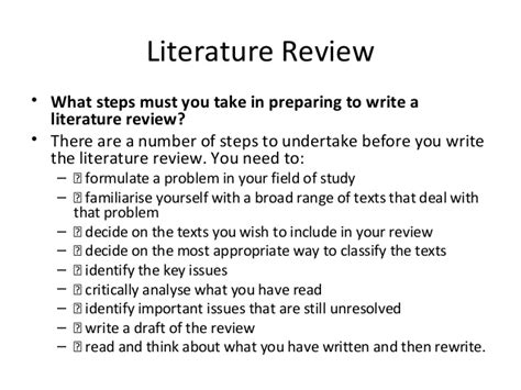 how to do a literature review for a dissertation title abstract introduction literature review