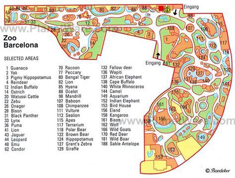 Barcelona Zoo Map | barcelona zoo barcelona