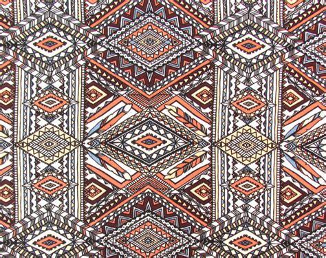 aztec print upholstery fabric crepe dress fabric aztec print pcr034 1 yard