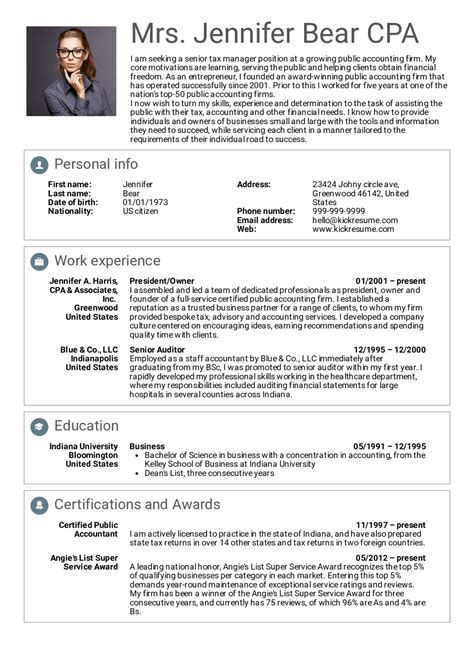 senior project manager resume sample example references job