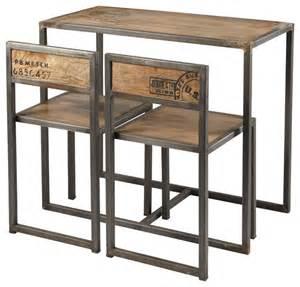 manufacture table haute de salle 224 manger 2 chaises en