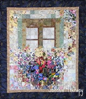 watercolor quilt tutorial stitchin therapy the english window