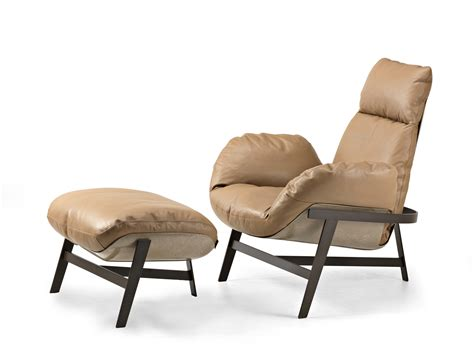 armchair com leather armchair jupiter by arketipo design mauro lipparini