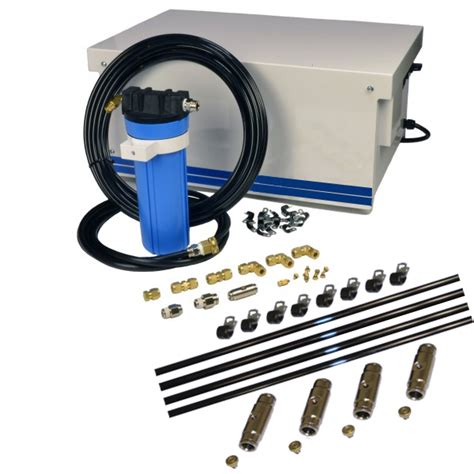 high pressure patio misting system high pressure misting systems patio misters misting pros