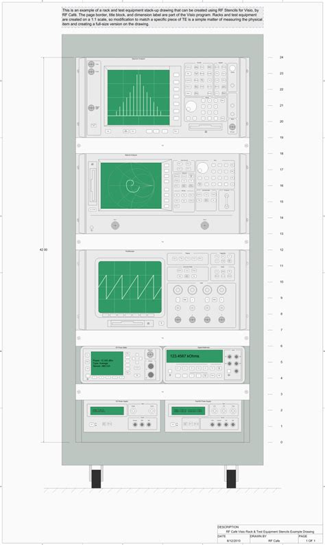 rack stencil visio rf block diagrams stencils shapes for visio v2 rf cafe