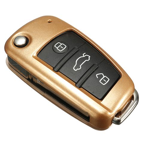 remote flip key cover shell fob protection for audi
