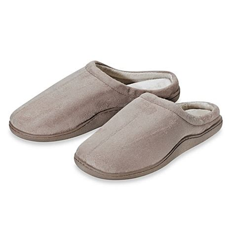 bed bath and beyond slippers buy memory foam men s size extra large slippers in