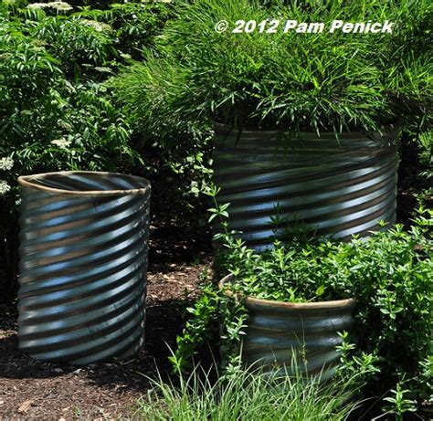Culvert Pipe Planters by Plants At The Carolina Arboretum