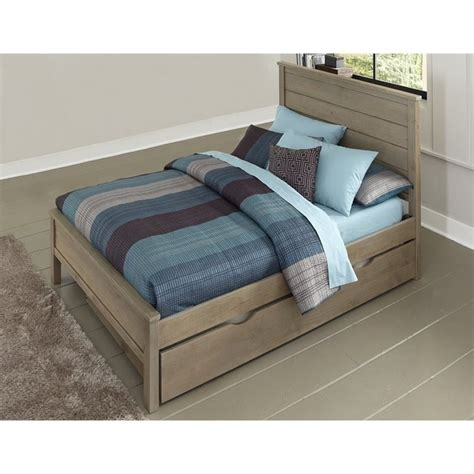 full beds with trundle ne kids highlands alex full panel bed with trundle in