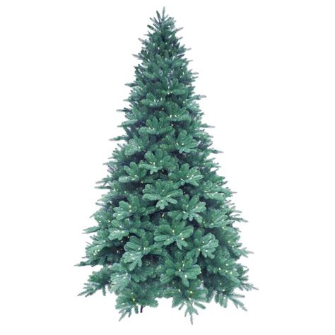 9 ft blue noble spruce artificial christmas tree with 780