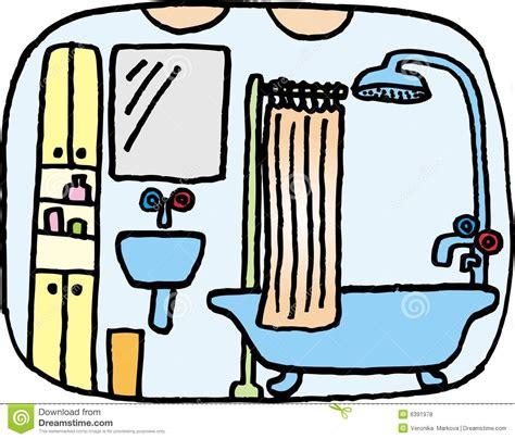 badezimmer clipart badezimmer lizenzfreie stockfotos bild 6391978