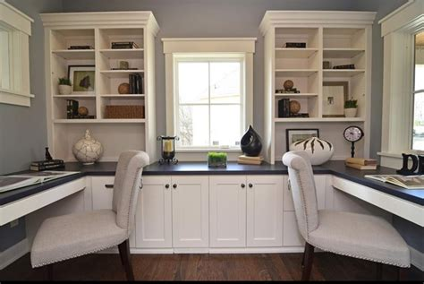 Built In Desk Ideas For Home Office 24 Functional Home Office Designs