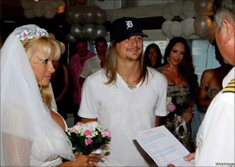 Kid Rock Was Of The Year While Pam Partied by 7 Really Marriages Of Canadians Eligible