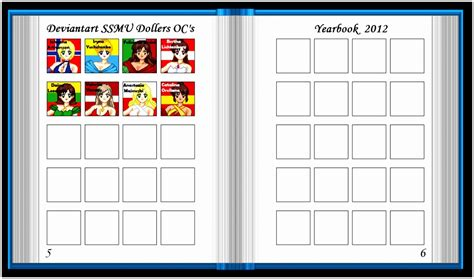 5 School Yearbook Templates Free Raiew Templatesz234 School Photo Templates Free