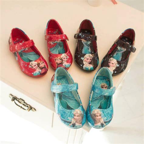 Sepatu Anak Motif Frozen Flat Shoes Frozen jual elsa frozen blue shoes sepatu anak import bayi