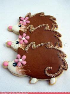 Found These S Day Hedgie Cookies Hedgehog hedgehog foods on hedgehog cake hedgehog