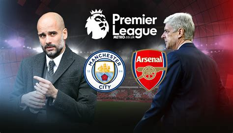 arsenal vs man city manchester city vs arsenal potential lineup team news