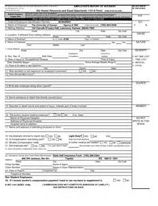 employee investigation form template best photos of human resources incident report template