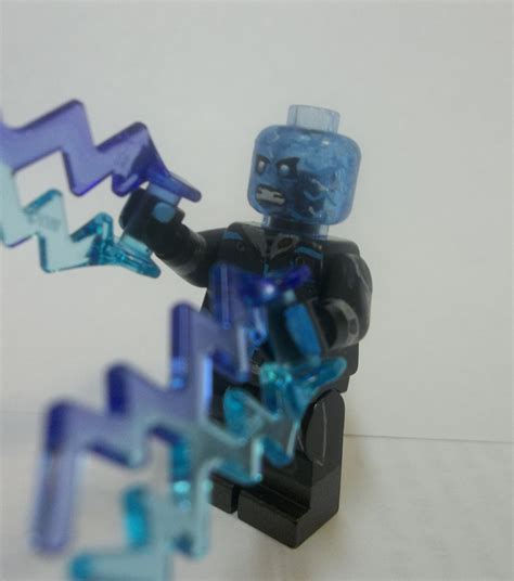 Lego Amazing Spider 2 Electro Misp lego the amazing spider 2 custom minifigure electro version 2