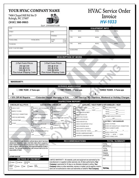 hvac maintenance checklist template pictures to pin on
