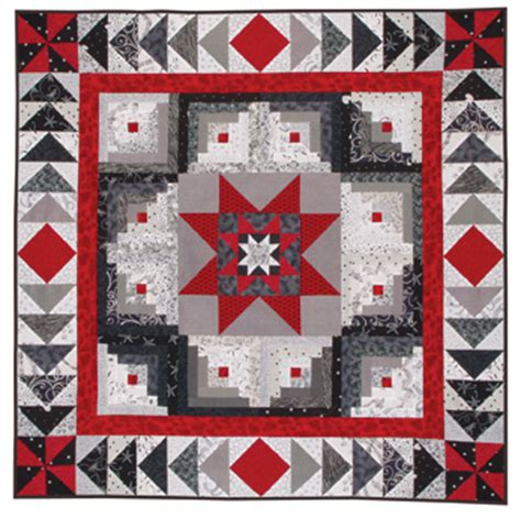 quilt pattern it s all black and white log cabin abcs at from marti featuring quilting with the
