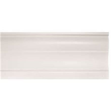 contemporary touch l designer s touch contemporary valance 2 in faux wood 72