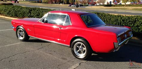 1966 mustang rack and pinion 1966 ford mustang beautifully restored v8 disc rack and