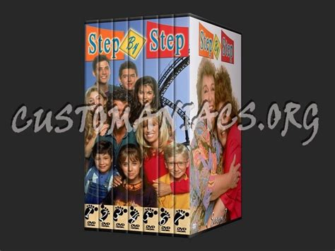 step by step television show forum tv show custom coversets page 29 dvd covers