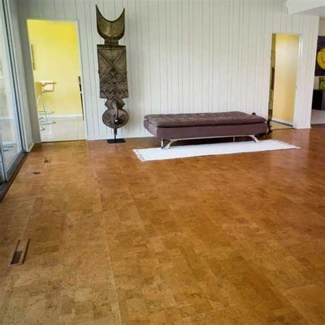Floating Cork Flooring   Information on Floating Cork Floors