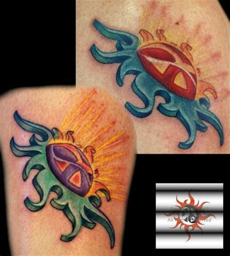 tribal peace tattoo inspiration tribal sun yin and yang peace sign