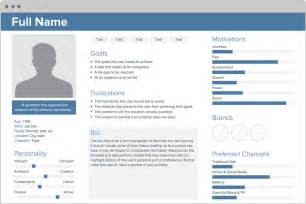 Persona Templates by User Persona Creator By Xtensio It S Free