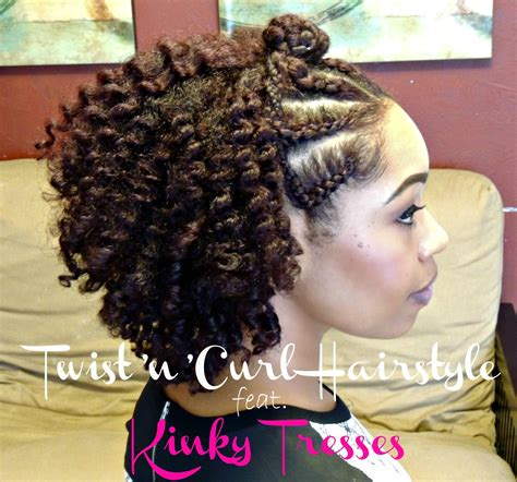 hairstyles with curls and twists best twist and curl natural hairstyle for beginners