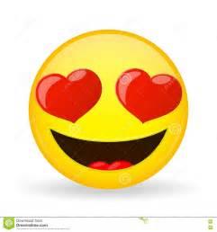 l emoji emoji dans l amour 201 motion de bonheur 201 motic 244 ne amoureux de sourire type de dessin anim 233 ic 244 ne