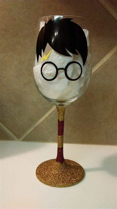potters glass harry potter wine glass silhouette cups mugs