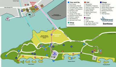 siloso resort location map about singapore city mrt tourism map and holidays